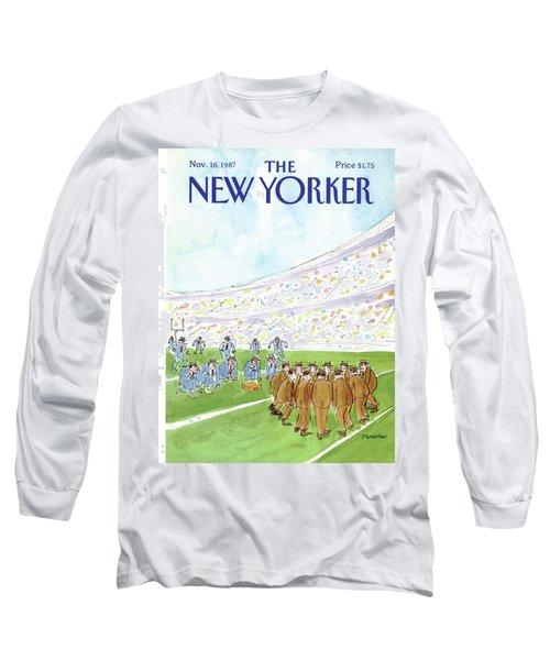 New Yorker November 16th, 1987 Long Sleeve T-Shirt