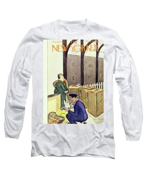 New Yorker November 21 1931 Long Sleeve T-Shirt
