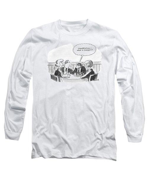 New Yorker November 25th, 1991 Long Sleeve T-Shirt