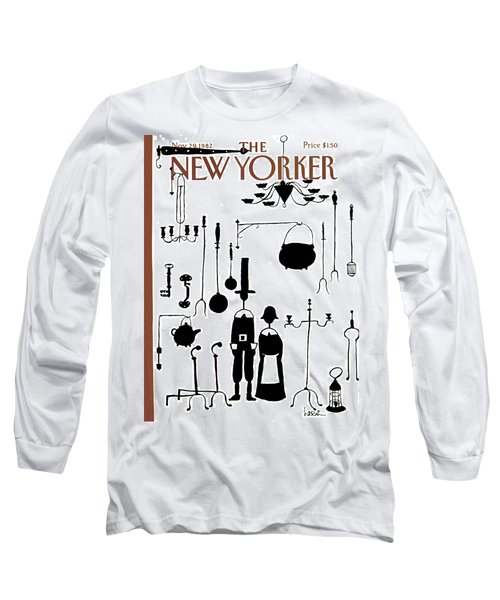 New Yorker November 29th, 1982 Long Sleeve T-Shirt