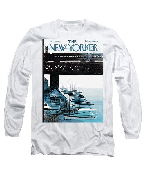 New Yorker November 30th, 1963 Long Sleeve T-Shirt