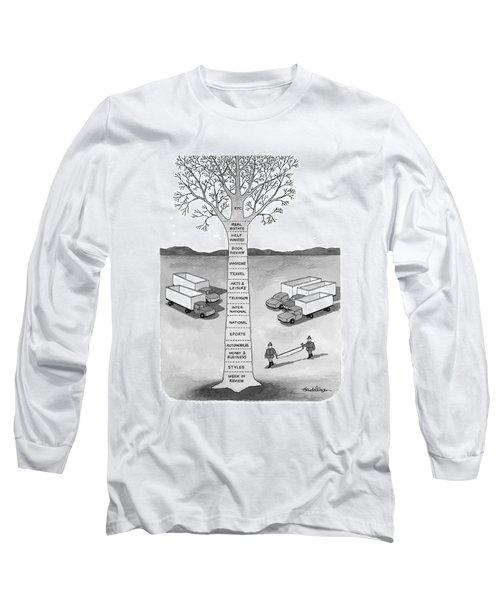 New Yorker November 30th, 1998 Long Sleeve T-Shirt