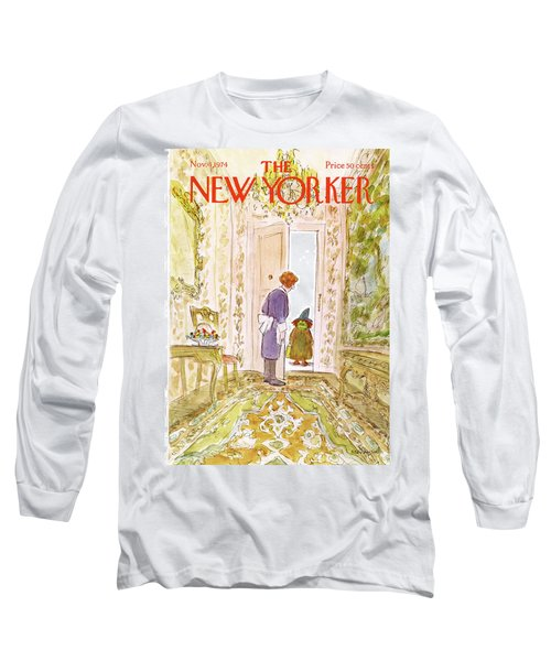 New Yorker November 4th, 1974 Long Sleeve T-Shirt