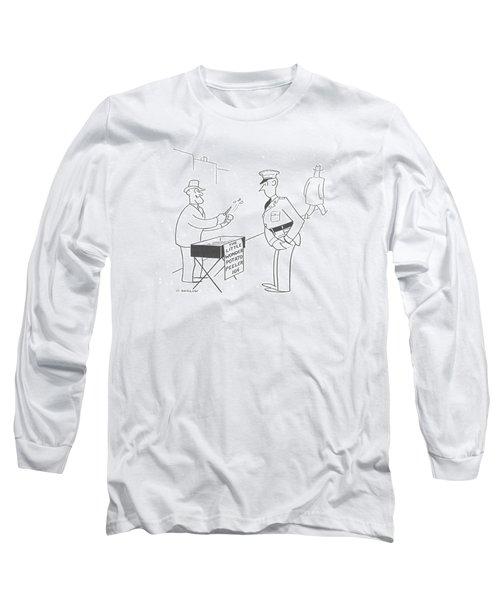 New Yorker November 9th, 1940 Long Sleeve T-Shirt