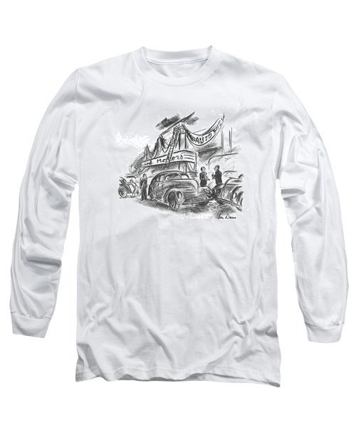 New Yorker October 12th, 1940 Long Sleeve T-Shirt