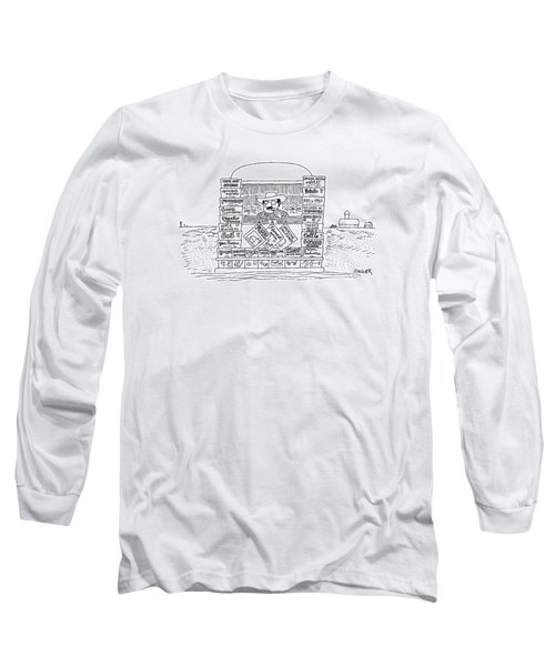 New Yorker October 13th, 1975 Long Sleeve T-Shirt