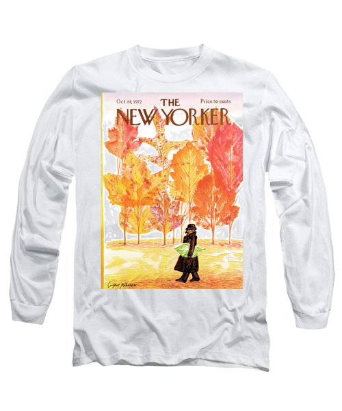 New Yorker October 14th, 1972 Long Sleeve T-Shirt