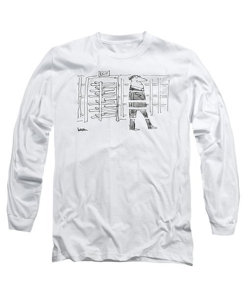 New Yorker October 14th, 1974 Long Sleeve T-Shirt