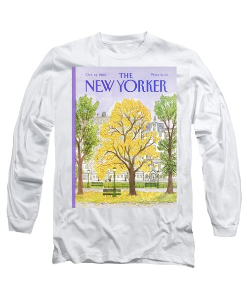 New Yorker October 14th, 1985 Long Sleeve T-Shirt