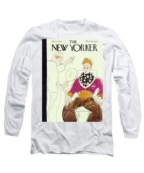 New Yorker October 15 1938 Long Sleeve T-Shirt