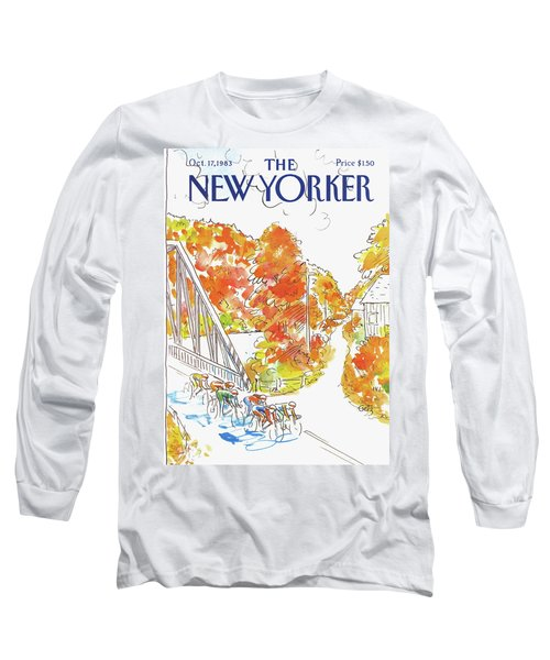 New Yorker October 17th, 1983 Long Sleeve T-Shirt