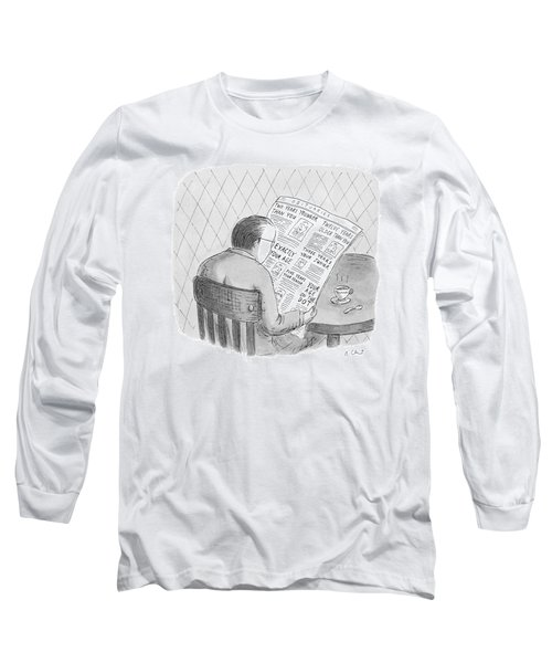 New Yorker October 25th, 1993 Long Sleeve T-Shirt