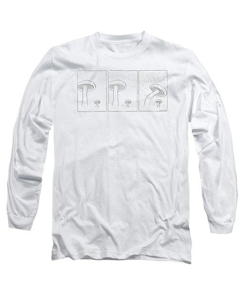 New Yorker October 2nd, 1971 Long Sleeve T-Shirt