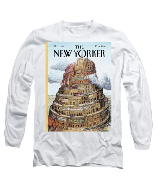 New Yorker October 2nd, 1995 Long Sleeve T-Shirt