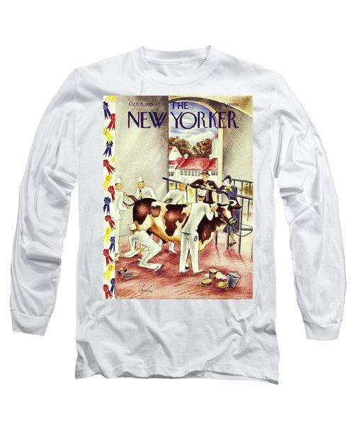 New Yorker October 5 1935 Long Sleeve T-Shirt