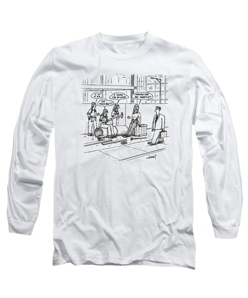 New Yorker October 5th, 1992 Long Sleeve T-Shirt