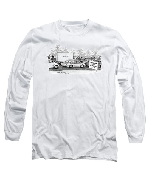 New Yorker October 6th, 1986 Long Sleeve T-Shirt