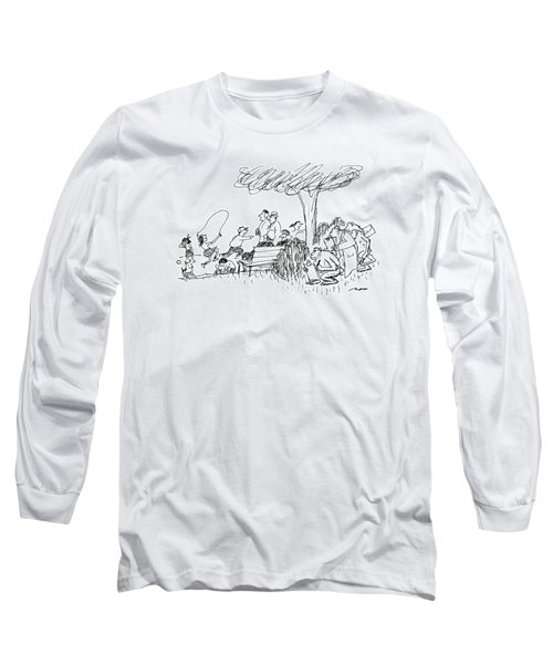 New Yorker October 7th, 1991 Long Sleeve T-Shirt