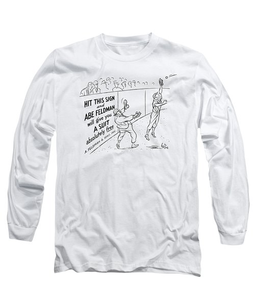 New Yorker October 8th, 1938 Long Sleeve T-Shirt