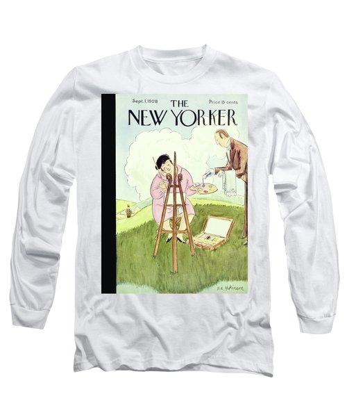 New Yorker September 1 1928 Long Sleeve T-Shirt