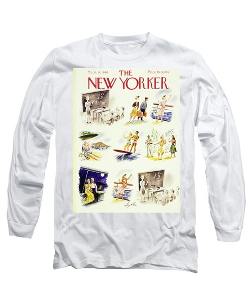 New Yorker September 14 1940 Long Sleeve T-Shirt