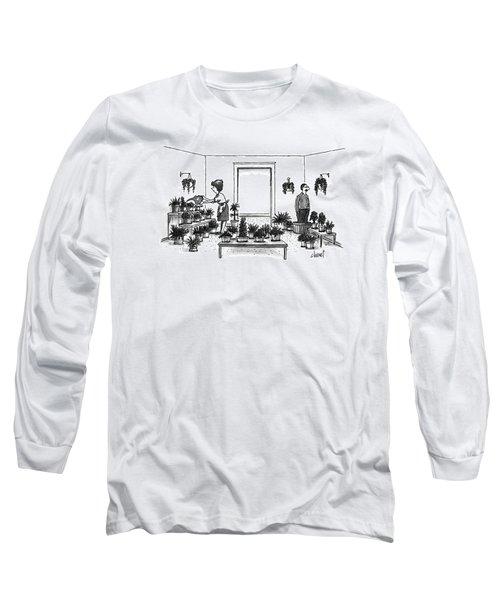 New Yorker September 16th, 1996 Long Sleeve T-Shirt