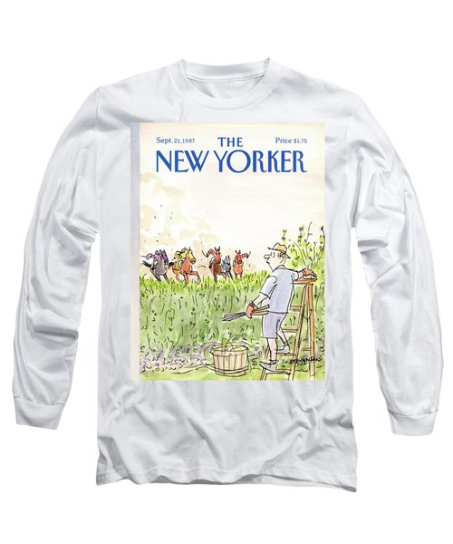 New Yorker September 21st, 1987 Long Sleeve T-Shirt
