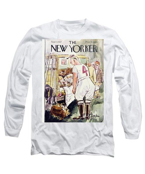 New Yorker September 4 1937 Long Sleeve T-Shirt