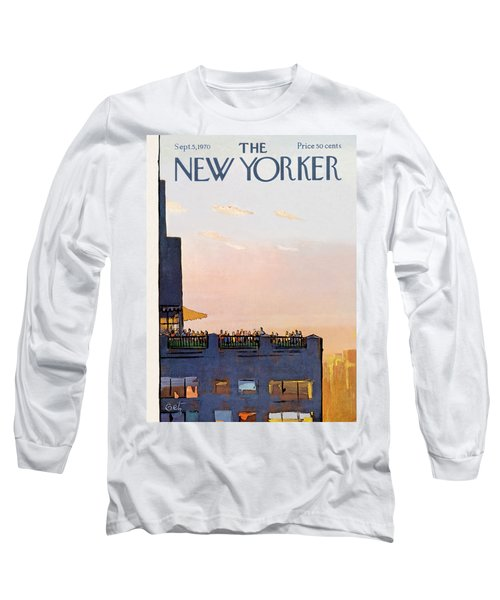 New Yorker September 5th, 1970 Long Sleeve T-Shirt