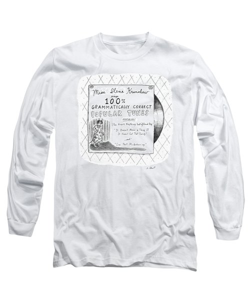 New Yorker September 5th, 1988 Long Sleeve T-Shirt