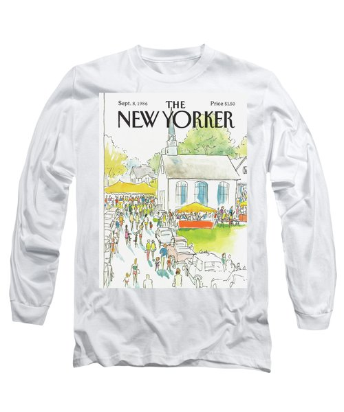 New Yorker September 8th, 1986 Long Sleeve T-Shirt