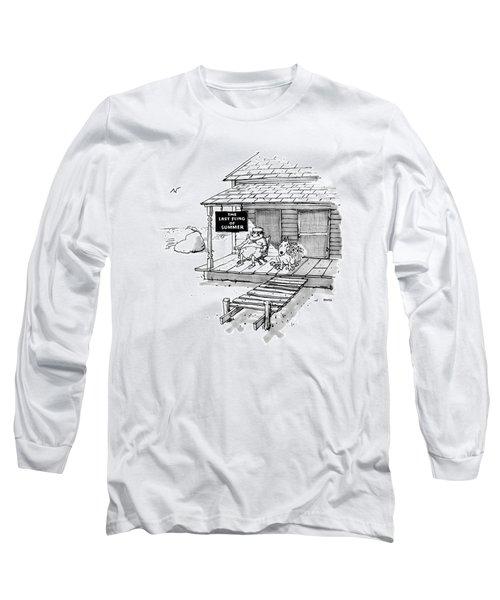 New Yorker September 8th, 1986 Long Sleeve T-Shirt
