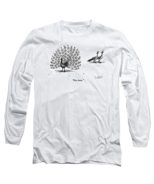 Nice Buns Long Sleeve T-Shirt