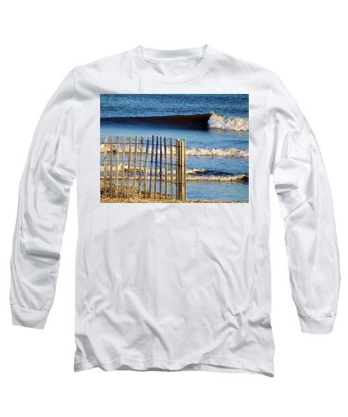 Nice Wave Long Sleeve T-Shirt by John Wartman