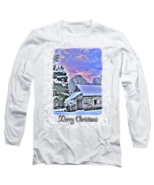 Christmas Card 27 Long Sleeve T-Shirt by Nina Ficur Feenan