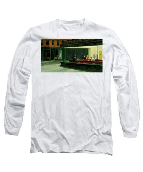 Nighthawks Long Sleeve T-Shirt