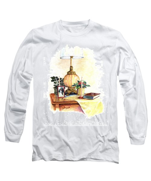 Nightstand Long Sleeve T-Shirt by Duane R Probus