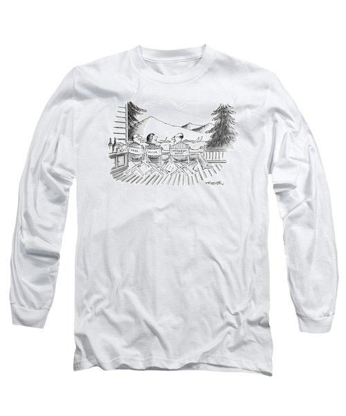 No Caption Long Sleeve T-Shirt