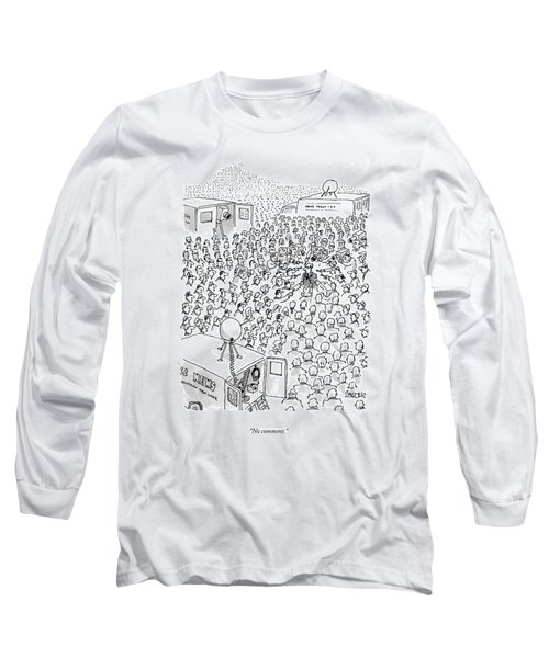 No Comment Long Sleeve T-Shirt