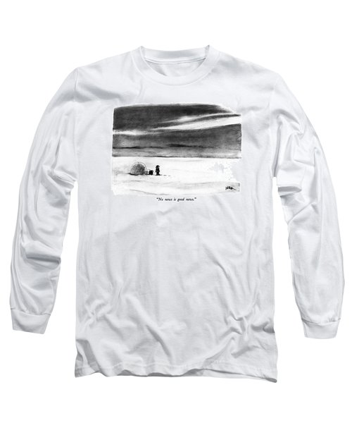 No News Is Good News Long Sleeve T-Shirt