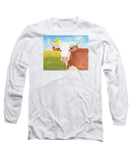 No Tree Necessary Long Sleeve T-Shirt by Arlene Crafton
