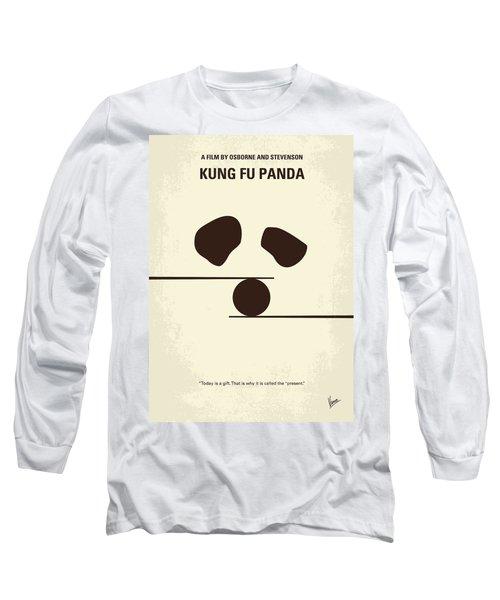 No227 My Kung Fu Panda Minimal Movie Poster Long Sleeve T-Shirt