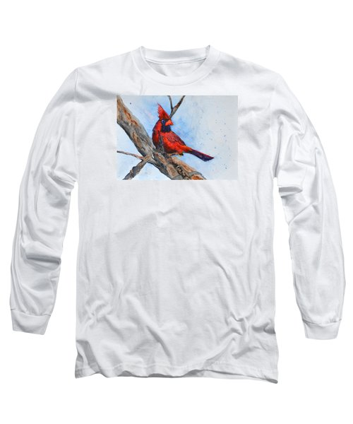 Long Sleeve T-Shirt featuring the painting Noble Overseer by Beverley Harper Tinsley