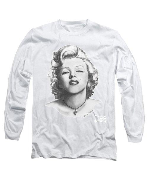 Norma Jeane Long Sleeve T-Shirt by Marianne NANA Betts