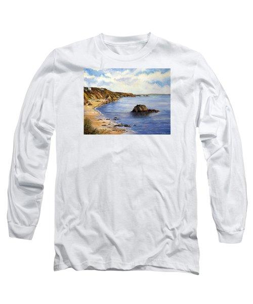 North Beach  Tenby Long Sleeve T-Shirt