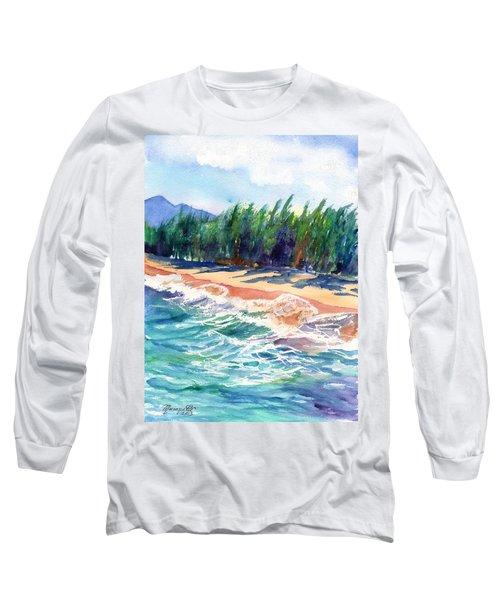 North Shore Beach 2 Long Sleeve T-Shirt