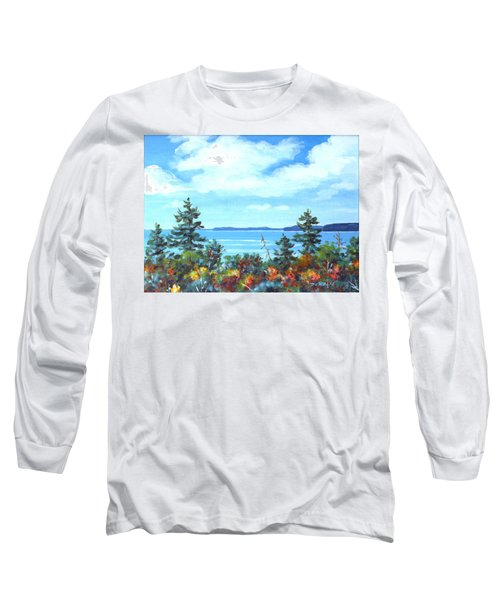 North Sky Sketch Long Sleeve T-Shirt