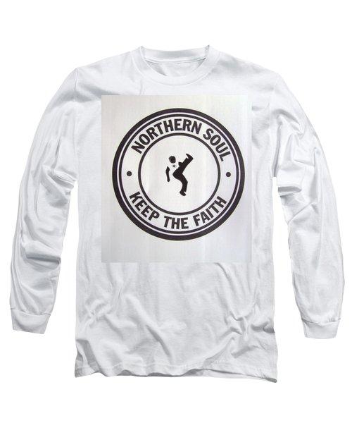 Northern Soul Dancer Long Sleeve T-Shirt