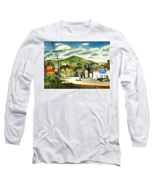 Nostalgia Arcadia Valley 1985  Long Sleeve T-Shirt by Kip DeVore