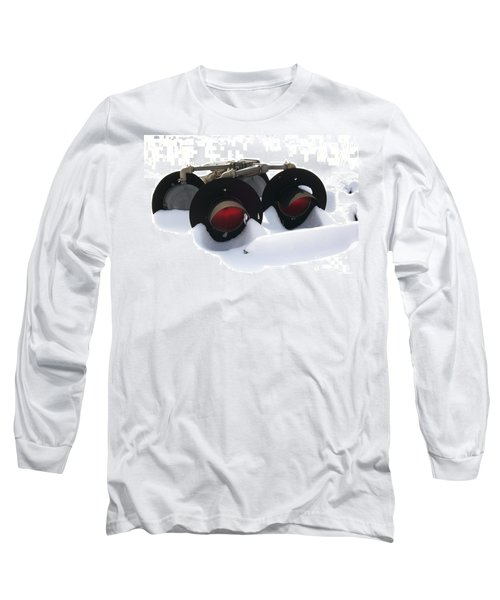 Long Sleeve T-Shirt featuring the photograph Nothin But Lights by Sara  Raber
